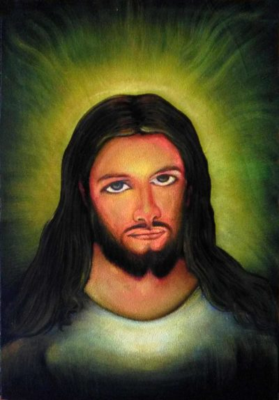 Jesus Christ Handpainted Wall Art Decoration